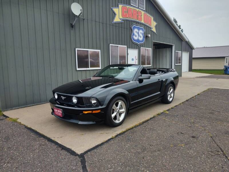 2007 Ford Mustang for sale at CARS ON SS in Rice Lake WI