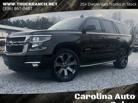 2015 Chevrolet Tahoe for sale at Carolina Auto Sales in Trinity NC
