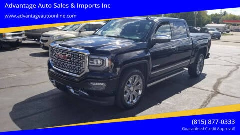 2017 GMC Sierra 1500 for sale at Advantage Auto Sales & Imports Inc in Loves Park IL