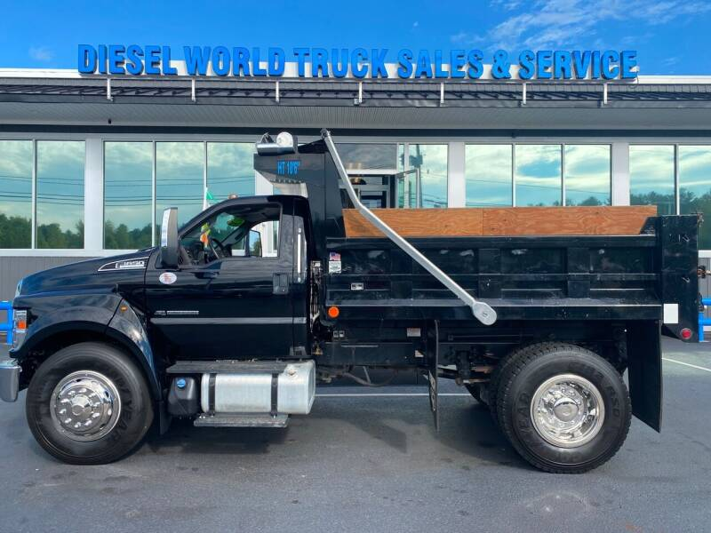 2018 Ford F-650 Super Duty for sale at Diesel World Truck Sales in Plaistow NH