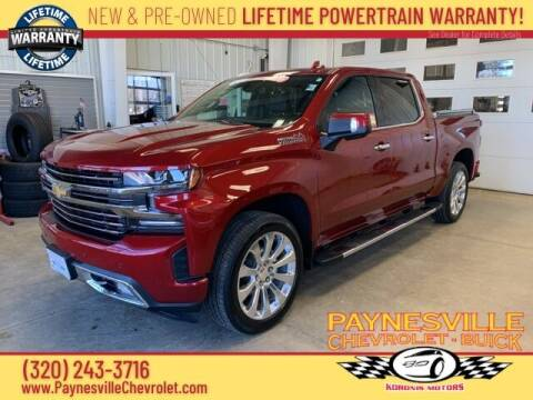 2019 Chevrolet Silverado 1500 for sale at Paynesville Chevrolet - Buick in Paynesville MN