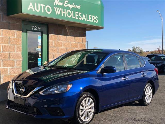 2019 Nissan Sentra for sale at New England Wholesalers in Springfield MA