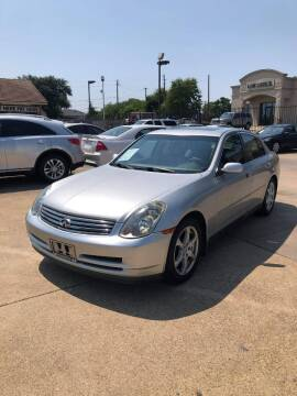 2003 Infiniti G35 for sale at CityWide Motors in Garland TX
