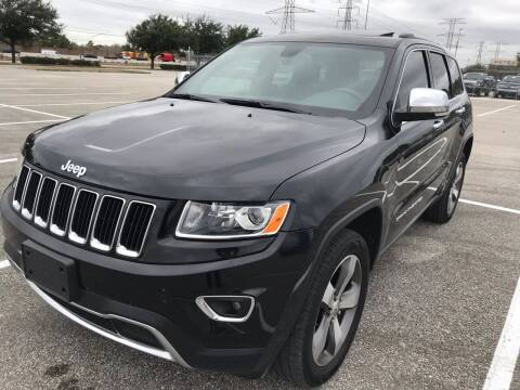 2015 Jeep Grand Cherokee for sale at Texas Luxury Auto in Houston TX