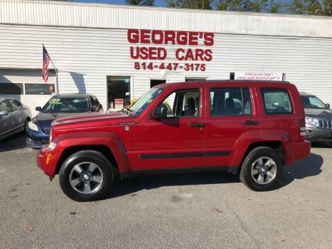 2008 Jeep Liberty for sale at George's Used Cars Inc in Orbisonia PA