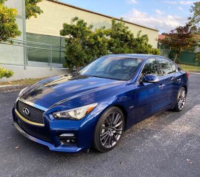 2016 Infiniti Q50 for sale at Meru Motors in Hollywood FL