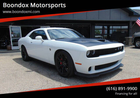 2016 Dodge Challenger for sale at Boondox Motorsports in Caledonia MI