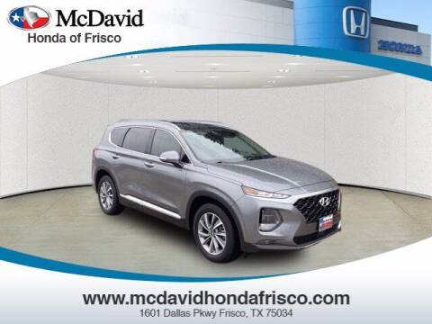 2019 Hyundai Santa Fe for sale at DAVID McDAVID HONDA OF IRVING in Irving TX