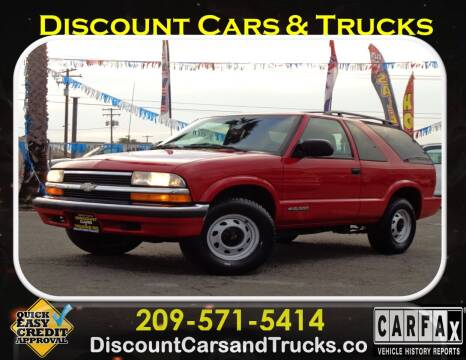 1999 Chevrolet Blazer for sale at Discount Cars & Trucks in Modesto CA