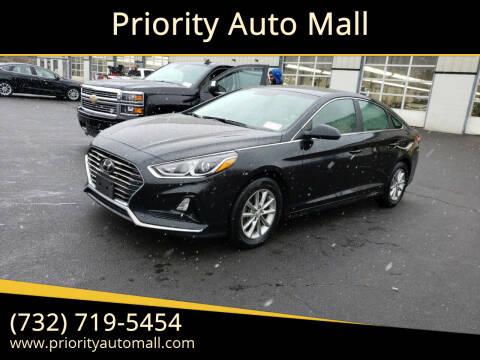 2018 Hyundai Sonata for sale at Mr. Minivans Auto Sales - Priority Auto Mall in Lakewood NJ