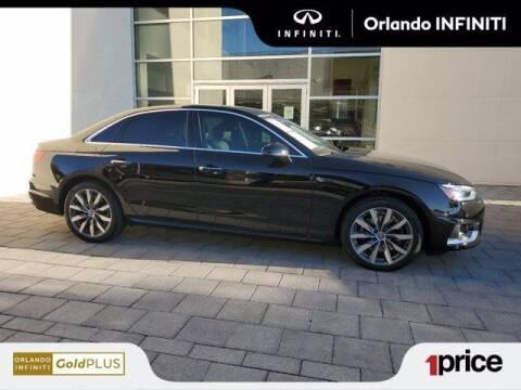 2020 Audi A4 for sale at Orlando Infiniti in Orlando FL