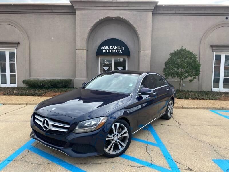 2016 Mercedes-Benz C-Class for sale at Noel Daniels Motor Company in Brandon MS