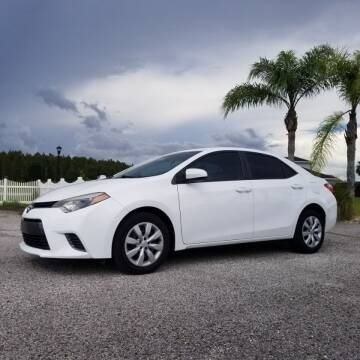 2015 Toyota Corolla for sale at Specialty Motors LLC in Land O Lakes FL