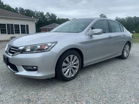 2013 Honda Accord for sale at Premier Auto Solutions & Sales in Quinton VA