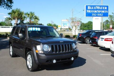 2016 Jeep Patriot for sale at BlueWater MotorSports in Wilmington NC
