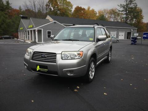 2006 Subaru Forester for sale at 207 Motors in Gorham ME