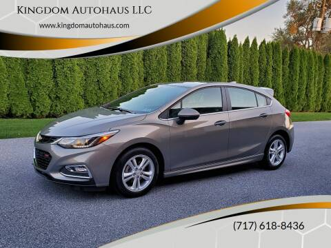 2018 Chevrolet Cruze for sale at Kingdom Autohaus LLC in Landisville PA
