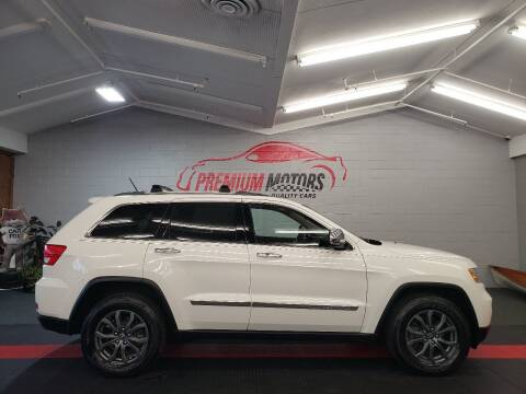 2011 Jeep Grand Cherokee for sale at Premium Motors in Villa Park IL