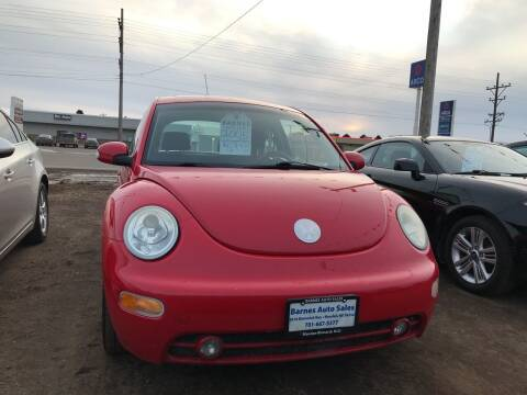 2005 Volkswagen New Beetle for sale at BARNES AUTO SALES in Mandan ND