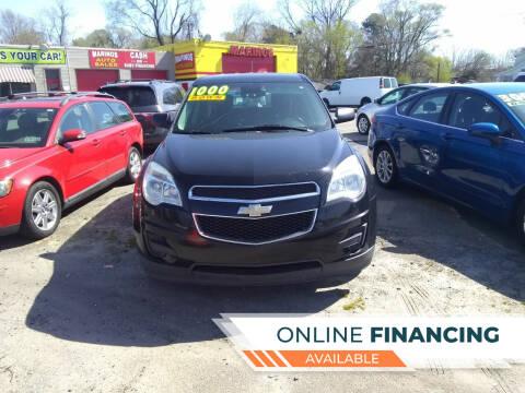 2015 Chevrolet Equinox for sale at Marino's Auto Sales in Laurel DE