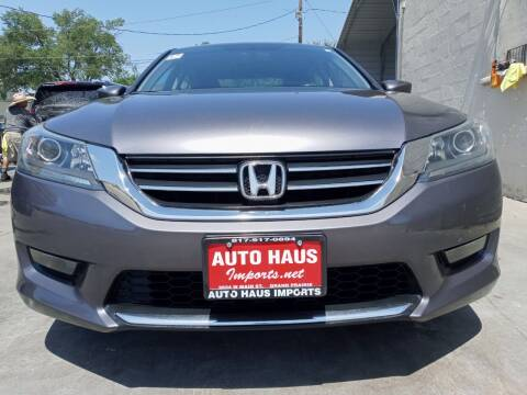 2015 Honda Accord for sale at Auto Haus Imports in Grand Prairie TX