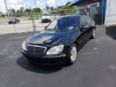 2003 Mercedes-Benz S-Class for sale at Boca Leasing Center Inc. in West Palm Beach FL