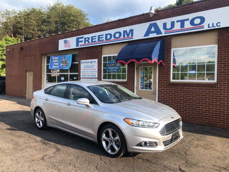 2013 Ford Fusion for sale at FREEDOM AUTO LLC in Wilkesboro NC