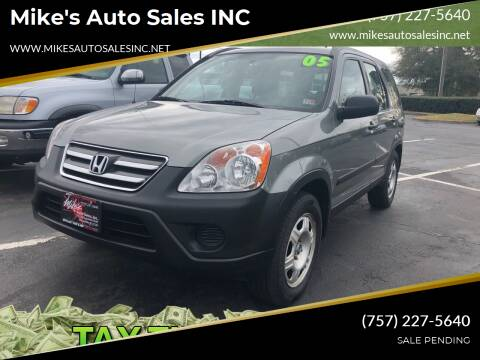 2005 Honda CR-V for sale at Mike's Auto Sales INC in Chesapeake VA
