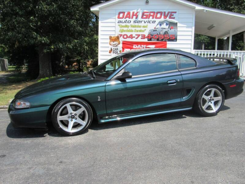 1996 Ford Mustang SVT Cobra for sale at Oak Grove Auto Sales in Kings Mountain NC