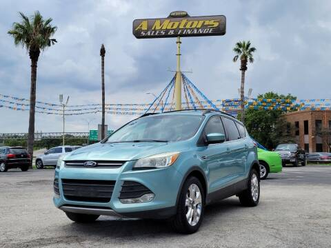 2013 Ford Escape for sale at A MOTORS SALES AND FINANCE - 10110 West Loop 1604 N in San Antonio TX