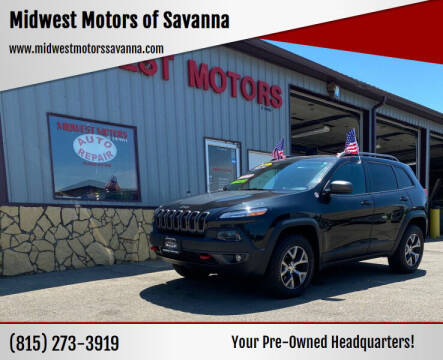 2014 Jeep Cherokee for sale at Midwest Motors of Savanna in Savanna IL