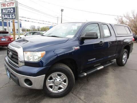 2008 Toyota Tundra for sale at TRI CITY AUTO SALES LLC in Menasha WI