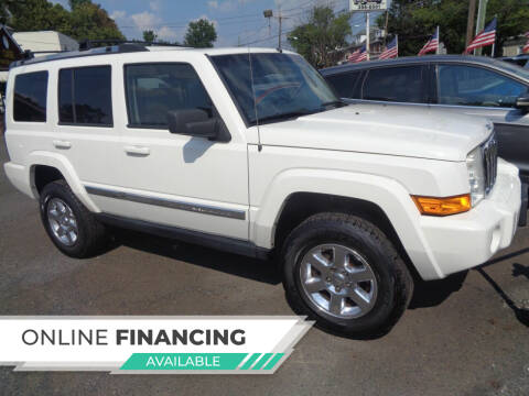 2008 Jeep Commander for sale at Cade Motor Company in Lawrence Township NJ