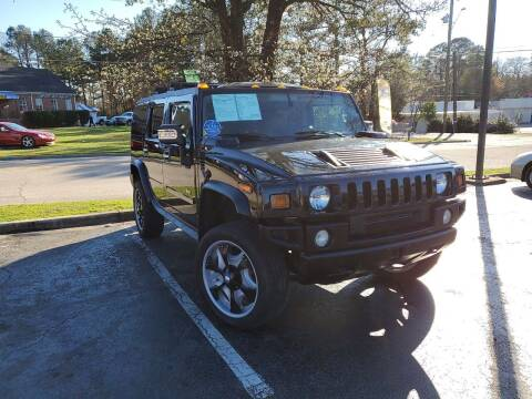 2004 HUMMER H2 for sale at Complete Auto Center , Inc in Raleigh NC