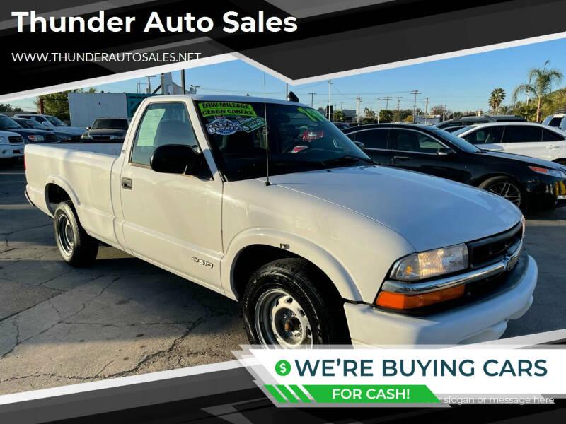 2001 Chevrolet S-10 for sale in Sacramento, CA