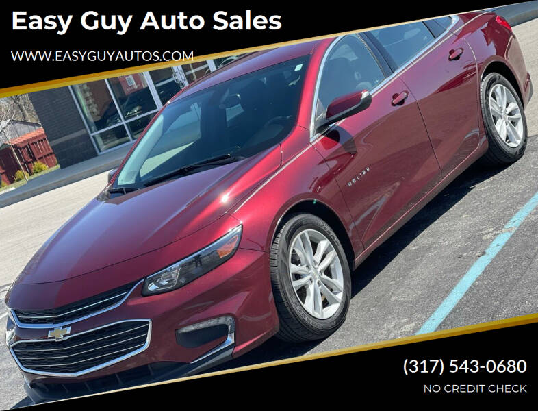 2016 Chevrolet Malibu for sale at Easy Guy Auto Sales in Indianapolis IN