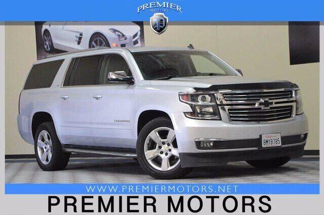 2015 Chevrolet Suburban for sale at Premier Motors in Hayward CA