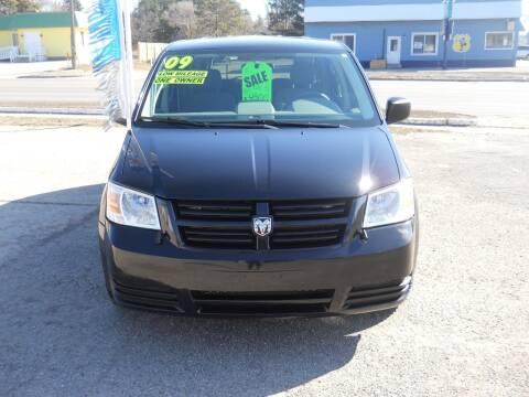 2009 Dodge Grand Caravan for sale at Shaw Motor Sales in Kalkaska MI