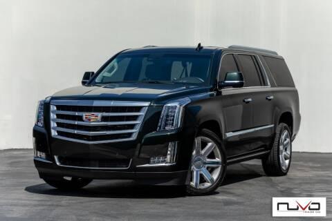 2016 Cadillac Escalade ESV for sale at Nuvo Trade in Newport Beach CA