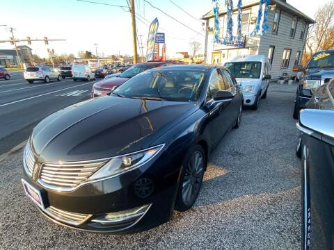 2013 Lincoln MKZ for sale at Autobahn Motor Group in Willow Grove PA