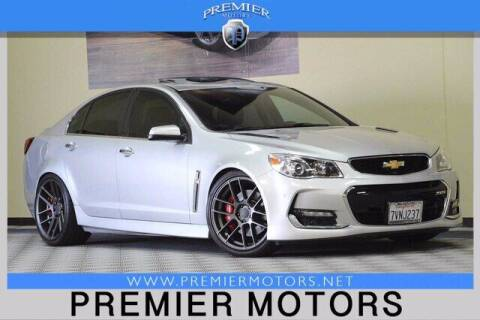 2016 Chevrolet SS for sale at Premier Motors in Hayward CA