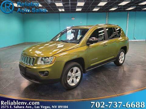 2012 Jeep Compass for sale at Reliable Auto Sales in Las Vegas NV