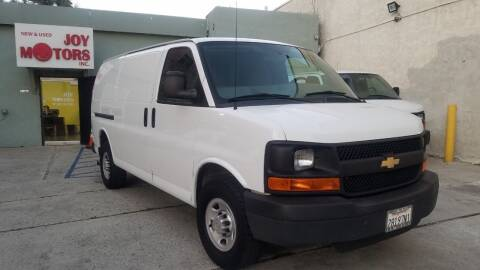 2014 Chevrolet Express Cargo for sale at Joy Motors in Los Angeles CA