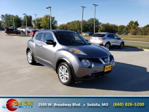 2015 Nissan JUKE for sale at RICK BALL FORD in Sedalia MO
