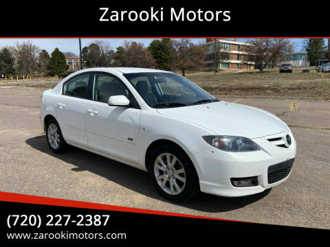 2009 Mazda MAZDA3 for sale at Zarooki Motors in Englewood CO