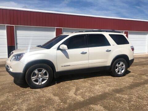 2008 GMC Acadia for sale at TnT Auto Plex in Platte SD