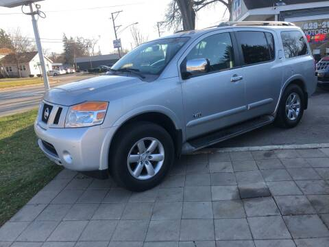 2008 Nissan Armada for sale at CPM Motors Inc in Elgin IL