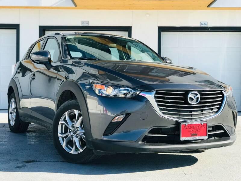 2019 Mazda CX-3 for sale at Avanesyan Motors in Orem UT