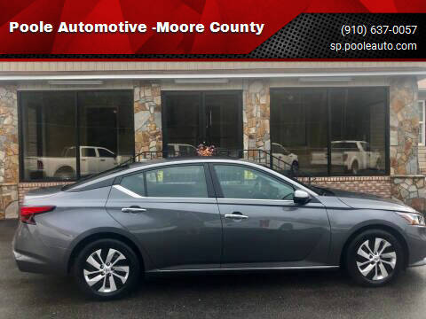 2019 Nissan Altima for sale at Poole Automotive -Moore County in Aberdeen NC