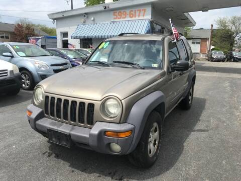 2004 Jeep Liberty for sale at Dad's Auto Sales in Newport News VA